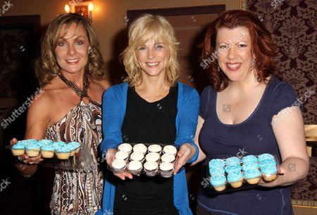 Judy McLane, Lisa Brescia, Jennifer Perry