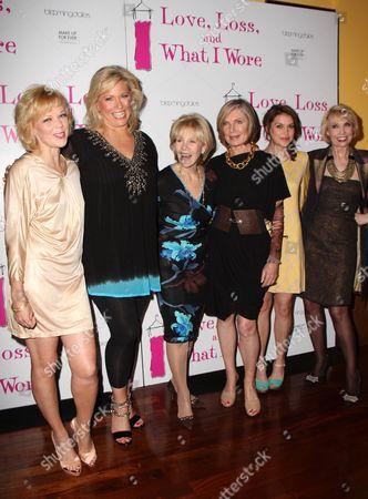 Emily Bergl, Emme, Daryl Roth, Susan Sullivan, Ashley Austin Morris, Julie Halston
