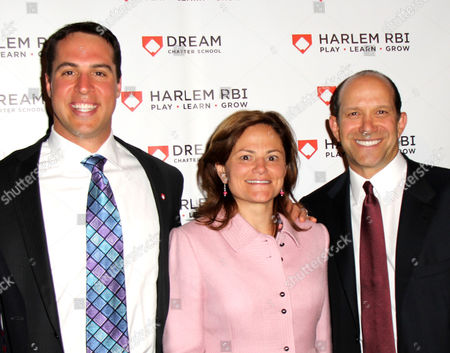 Mark Teixeira, Melissa Mark Viverito, Howard Lutnick