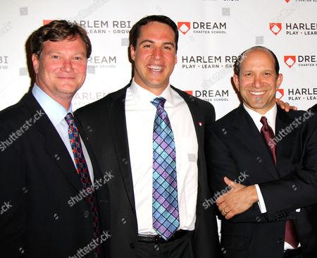 Stuart Fraser, Mark Teixeira, Howard Lutnick