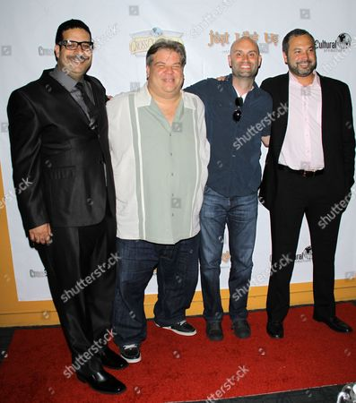 Erik Griffin, Angelo Tsarouchas, Ted Alexandro and Ahmed Ahmed