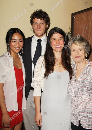 Stock Picture of Greta Lee, Gabriel Ebert, Zoe Winters and Mary Louise Wilson