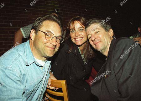 Stephen Furst, Karen Allen and Peter Riegert