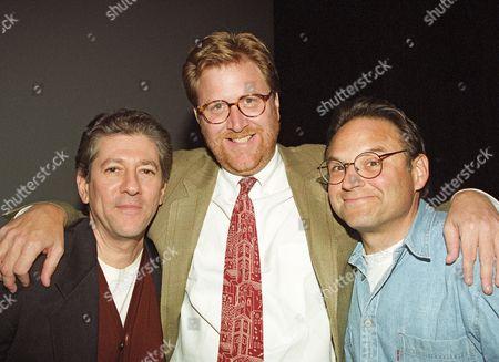 Peter Riegert, James Widdoes and Stephen Furst