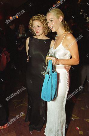 Drew Barrymore and Megan Dodds