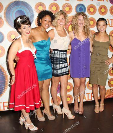 Stock Photo of Allison Guinn, Shaleah Adkisson, Sara King, Kacie Sheik, Jen Ses