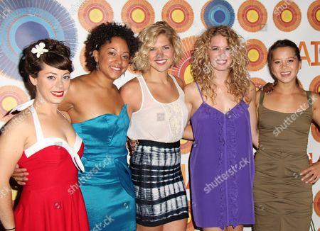 Stock Image of Allison Guinn, Shaleah Adkisson, Sara King, Kacie Sheik, Jen Ses