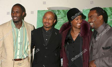 Idris Elba, Raoul Peck, Carole Karemera, Oris Erhuero