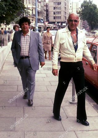 Stock Image of Telly Savalas and Brother George