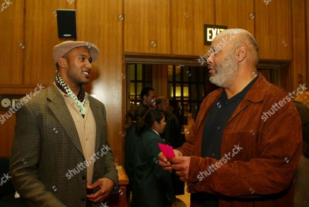 Henry Simmons and James Avery