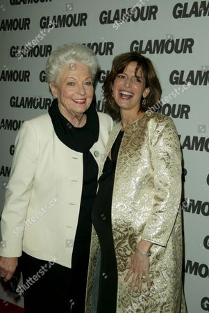 Stock Image of Governor Ann Richards and Cindi Leive