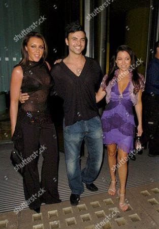 Michelle Heaton and Andy Scott Lee with Lisa Scott Lee