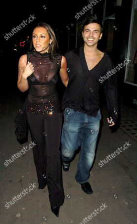 Michelle Heaton and Andy Scott Lee