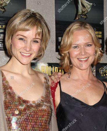 Jill Paice and Rebecca Luker