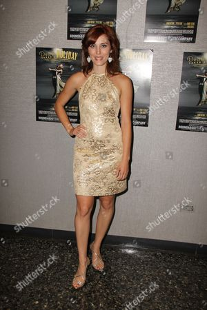 Editorial image of 'Death Takes A Holiday' Opening Night, Laura Pels Theatre, New York, America - 21 Jul 2011