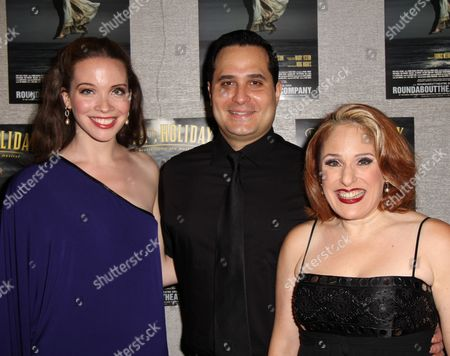 Stock Image of Patricia Noonan, Jay Jaski and Joy Hermalyn
