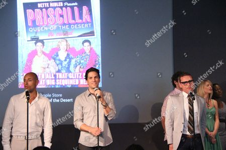 Editorial photo of 'Priscilla Queen of the Desert' Cast Performs Live with Martha Wash, Apple Store Soho, New York, America - 26 Jul 2011