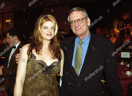 Kirstie Alley and Sid Sheinberg