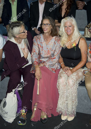 Lucia Dominguin, Paola Dominguin and Shannon Tweed (Gene Simmons's wife)