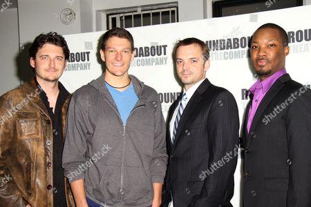 Toby Leonard Moore, Gabriel Ebert, James McMenamin and Corey Hawkin