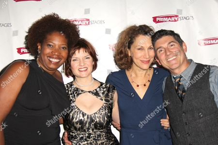 Stock Photo of Saidah Arrika Ekulona, Mary Bacon, Randy Graff and James Lecesne