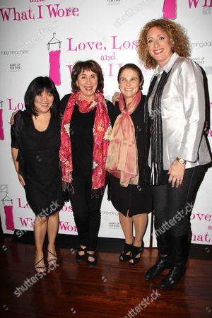 Ann Harada, Marylouise Burke, Tovah Feldshuh, Judy Gold