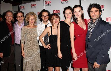 Mark Blum, Jeremy Shamos, Amy Irving, Director Sam Gold, Playwright Zoe Kazan, Jessica Collins, Betty Gilpin, Oscar Isaac