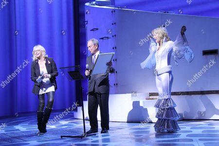 Judy Craymer, Michael Bloomberg, Lisa Brescia