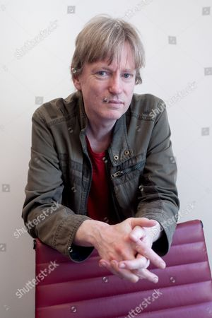 Stock Photo of The writer Michel Faber