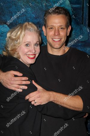 Stock Picture of Nancy Opel, Adam Pascal