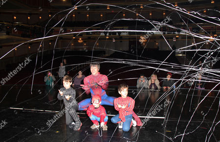 Editorial photo of SPIDER-MAN Turn Off The Dark musical, New York, America - 26 Oct 2011