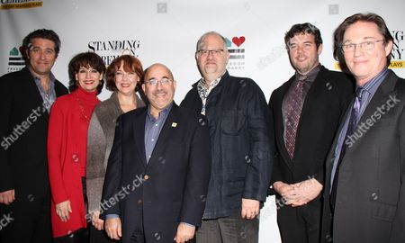 Craig Bierko, Beth Leavel, Harriet Harris, Freedom to Marry Founder Evan Wolfson, Playwright Doug Wright, Craig Bierko, Richard Thomas