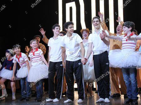 Editorial image of 'Billy Elliot the Musical' celebrates Third Anniversary on Broadway, New York, America - 15 Nov 2011