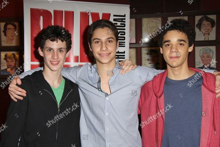 Editorial picture of 'Billy Elliot the Musical' celebrates Third Anniversary on Broadway, New York, America - 15 Nov 2011