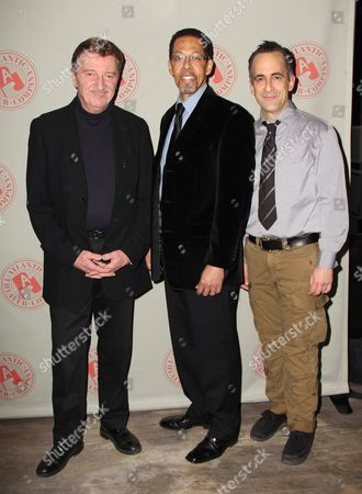 Larry Bryggman, Peter Jay Fernandez and David Pittu