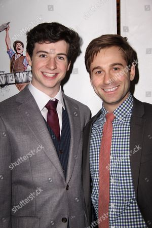 Editorial picture of 'Newsies' The Musical Opening Night, New York, America - 29 Mar 2012