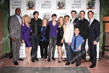 Editorial photo of 'In Masks Outrageous and Austere' Play Opening Night, New York, America - 16 Apr 2012