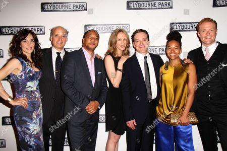 Annie Parisse, Frank Wood, Damon Gupton, Christina Kirk, Jeremy Shamos, Crystal A Dickinson, Brendan Griffin
