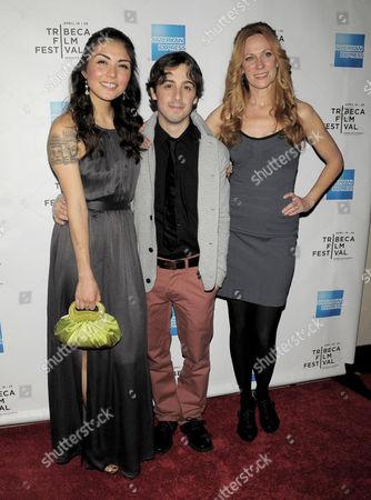 Daniela Pineda, Matt Bush and Marsha Dietlein