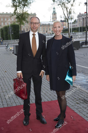 Stock Photo of Sofia Arkelsten, Olof Torvestig at a performance for the opening of the Parliamentary Session, Royal Swedish Opera