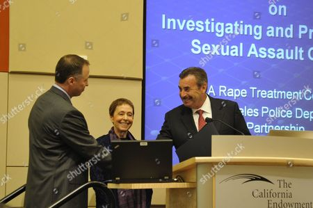 Editorial picture of 9th Annual Chief's Conference on Investigating and Prosecuting Sexual Assault Crimes, Los Angeles, America - 17 Jul 2012