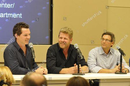 Shawn Hatosy, Michael Cudlitz and Jonathan Lisco (Executive Producer 'Southland')