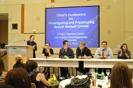 Editorial image of 9th Annual Chief's Conference on Investigating and Prosecuting Sexual Assault Crimes, Los Angeles, America - 17 Jul 2012