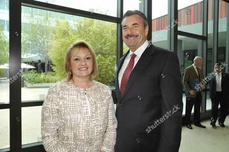Stock Picture of Linda Kelly and Charlie Beck