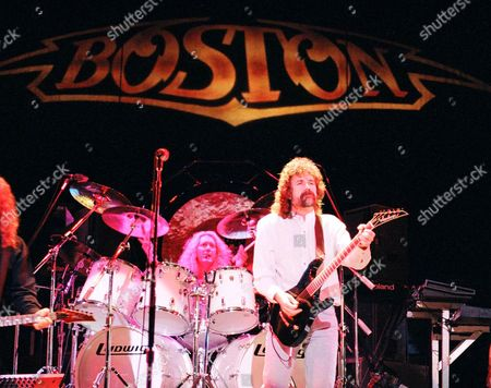 Stock Picture of Boston - Brad Delp, Las Vegas, America - 10 AUG 1997
