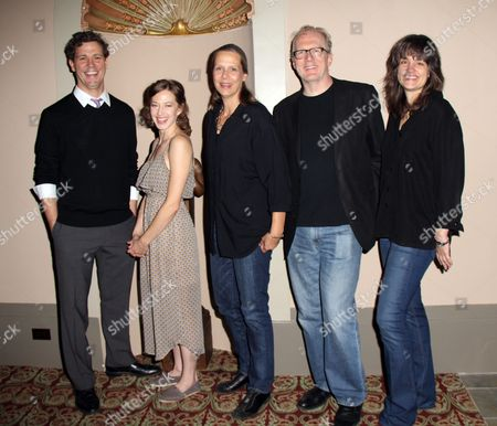 Stock Picture of Madison Dirks, Carrie Coon, Amy Morton, Tracy Letts, Director Pam MacKinnon