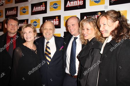 Charles Strouse and guests