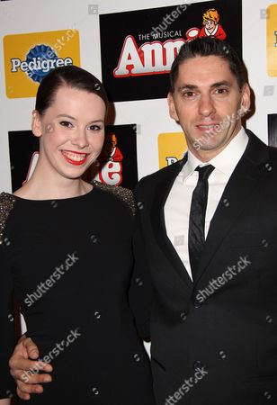 Editorial picture of 'Annie' the musical play opening night, New York, America - 08 Nov 2012