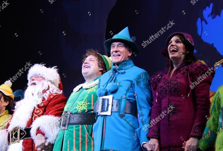 Editorial picture of 'Elf The Musical' returns to Broadway, New York, America - 09 Nov 2012