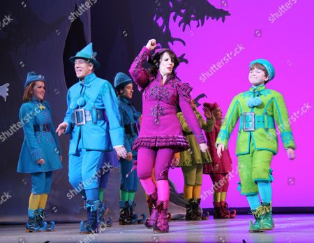 Editorial photo of 'Elf The Musical' returns to Broadway, New York, America - 09 Nov 2012